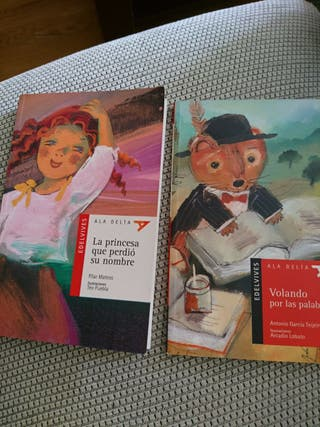 libros,niñ@s de + de cinco años.