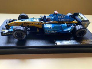 Maqueta Renault R25 Fernando Alonso HotWheels