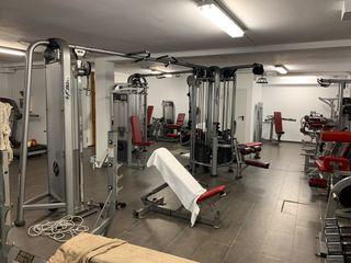 Gimnasio life fitness hammer strength