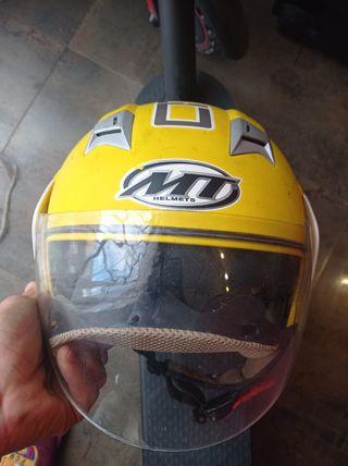 casco de moto MT/ talla XS