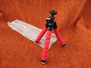 tripode pequeño foam ajustable y flexible