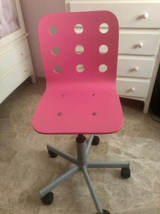 Silla escritorio con ruedas y regulable