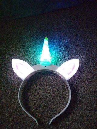 unicorn glowing headband