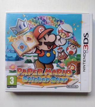 Juego 3DS Paper Mario Sticker Star