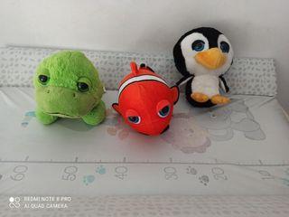 Peluches animales del mar