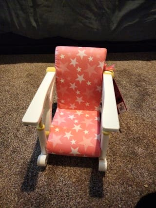 our generation clip-on to a table chair