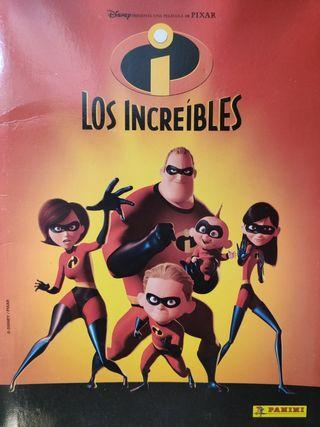 ALBUM COMPLETO LOS INCREIBLES.