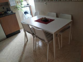 Mesas y sillas cocina