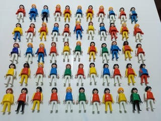 playmobil chica mujer vintage