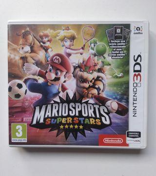 Juego 3DS Mario Sports SuperStar