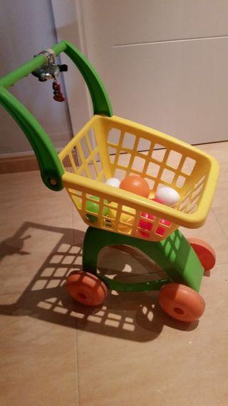 Carrito de la compra para niños
