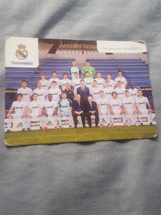 postal Real Madrid temp 2010-2011 escuchó ofertas