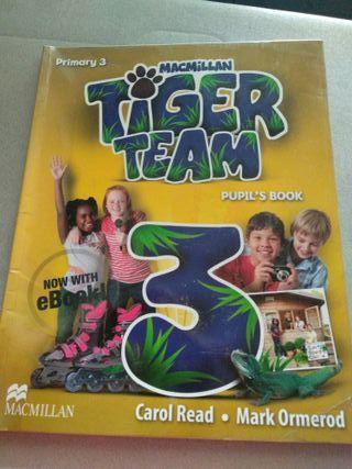 Libro Inglés 3 primaria