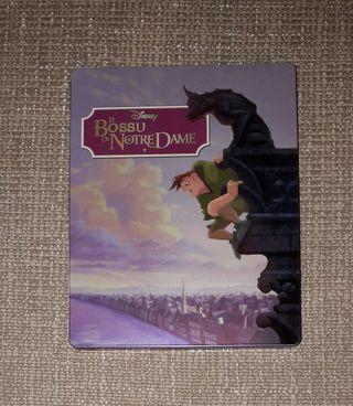 el jorobado de Notre Dame steelbook blu-ray y dvd