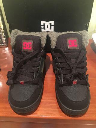 DC Shoes - Bota deportiva niño talla 36 nueva
