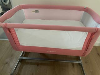Minicuna jane baby side rosa