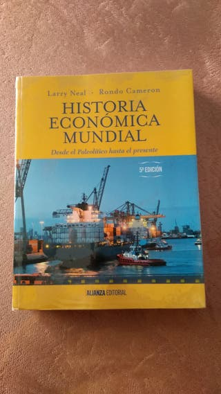 Historia económica mundial.