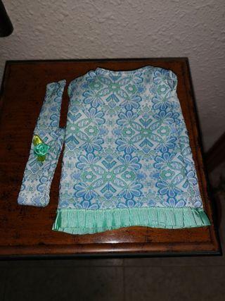 Vestido parq para Nancy clásica y diadema d regalo