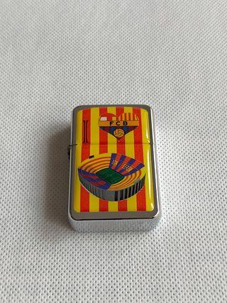 Mechero f.c Barcelona Barça camp nou a gasolina,(