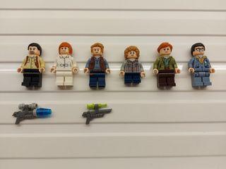 FIGURAS LEGO JURASSIC WORLD
