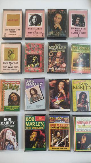 45 BOB MARLEY Cintas Cassettes Discografía