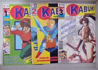 Revista Kabuki del 1 al 3 (1995)