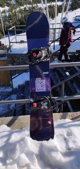 Pack snowboard tabla+fijaciones+botas