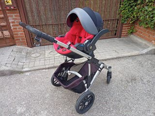 Carro de bebe con accesorios, Uppababy. Vista