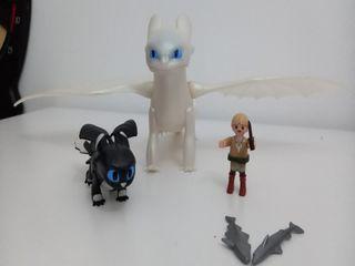 Furia Diurna y Bebe,playmobil