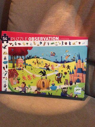puzzle 54 peces+pòster