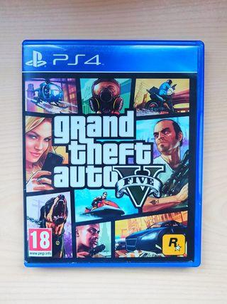Grand Theft Auto V PS4 + MAPA (GTA V, GTA 5)