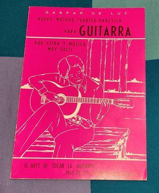 Nuevo metodo Guitarra Gaspar de Luz