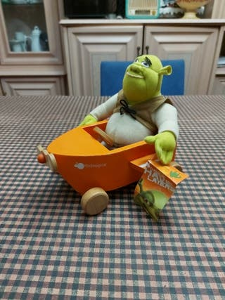 Shrek peluche con avion ItsImagical