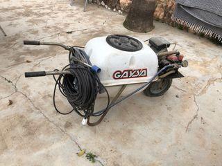 Fumigadora carretilla 100l electrica
