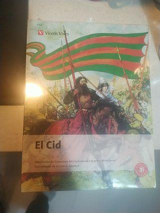 Libro El Cid ed. Vicens Vives