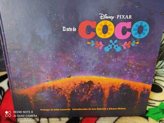 """Artbook de la película: """"Coco"""". Disney Pixar."""