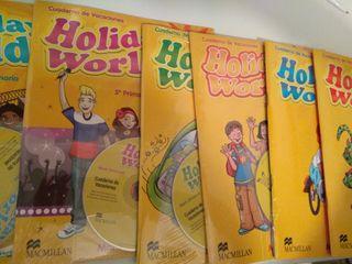 Holiday World. Libros de inglés de vacaciones