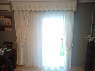 cortinas de diseño en perfecto estado