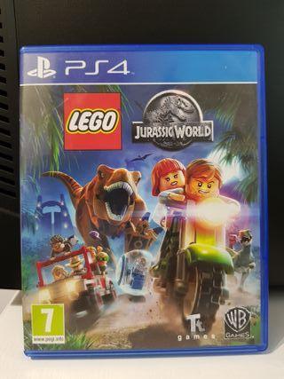 JUEGO PS4. LEGO JURASSIC WORLD