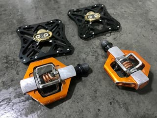 Pedales automáticos crank brothers candy 2