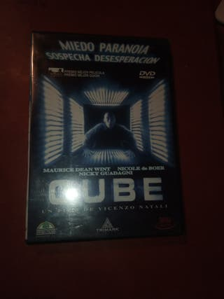 DVD pelicula Cube