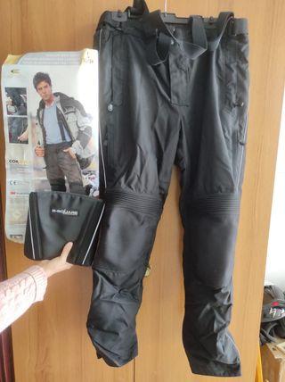 pantalón de moto y faja