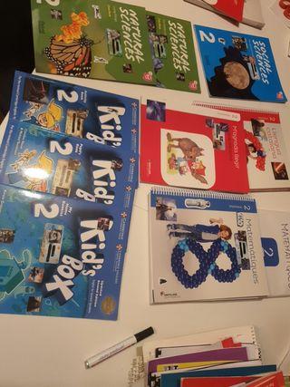 Libros de primaria segundo grado