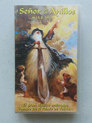 VHS El Señor de los Anillos animación Ralph Bakshi