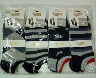 12 pares de calcetines de caballero