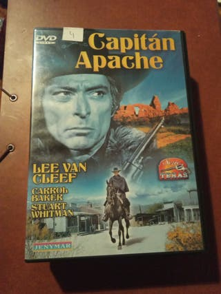 DVD pelicula Oeste. Capitan Apache