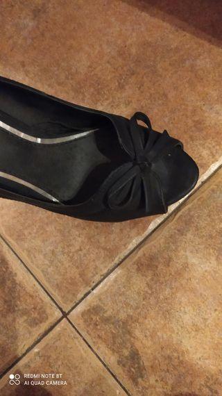 zapatos de aguja talla 39 usados 2 veces