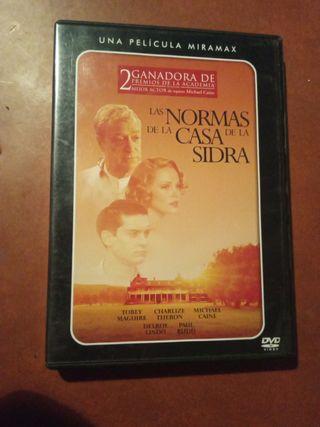 DVD Las normas de la casa sidra