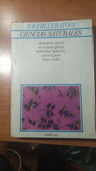 Ciencias Naturales Bachillerato 3
