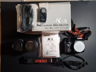 cámara réflex pentax kx